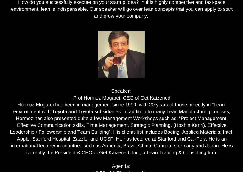 Lean Entrepreneurship